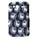 Geometric Deer Retro Pattern HTC Wildfire S A510e Hardshell Case View3