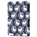 Geometric Deer Retro Pattern Kindle Touch 3G View3