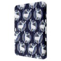 Geometric Deer Retro Pattern Samsung Galaxy Tab 8.9  P7300 Hardshell Case  View3