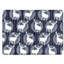 Geometric Deer Retro Pattern Kindle Fire (1st Gen) Flip Case View1