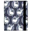 Geometric Deer Retro Pattern Kindle Fire (1st Gen) Flip Case View2