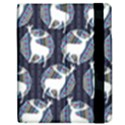 Geometric Deer Retro Pattern Apple iPad Mini Flip Case View2