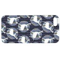 Geometric Deer Retro Pattern Apple iPhone 5 Hardshell Case with Stand View1