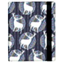 Geometric Deer Retro Pattern Samsung Galaxy Tab 10.1  P7500 Flip Case View3
