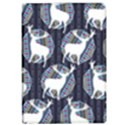Geometric Deer Retro Pattern iPad Air Flip View1