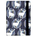 Geometric Deer Retro Pattern iPad Air Flip View2