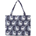 Geometric Deer Retro Pattern Mini Tote Bag View1