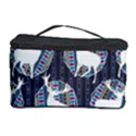 Geometric Deer Retro Pattern Cosmetic Storage Case View1