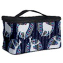Geometric Deer Retro Pattern Cosmetic Storage Case View2