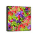 Colorful Mosaic Mini Canvas 4  x 4  View1