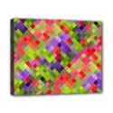 Colorful Mosaic Canvas 10  x 8  View1