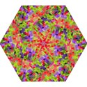 Colorful Mosaic Mini Folding Umbrellas View1