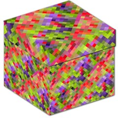 Colorful Mosaic Storage Stool 12