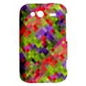 Colorful Mosaic HTC Wildfire S A510e Hardshell Case View2