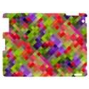 Colorful Mosaic Apple iPad 2 Hardshell Case View1