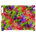 Colorful Mosaic Apple iPad 2 Hardshell Case (Compatible with Smart Cover) View1