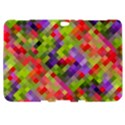 Colorful Mosaic Samsung Galaxy Tab 8.9  P7300 Hardshell Case  View1