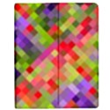 Colorful Mosaic Apple iPad 2 Flip Case View1