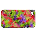 Colorful Mosaic Apple iPhone 4/4S Hardshell Case (PC+Silicone) View1