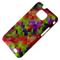 Colorful Mosaic Samsung Galaxy S II i9100 Hardshell Case (PC+Silicone) View4