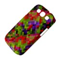 Colorful Mosaic Samsung Galaxy S III Classic Hardshell Case (PC+Silicone) View4