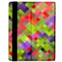 Colorful Mosaic Samsung Galaxy Tab 10.1  P7500 Flip Case View2