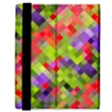 Colorful Mosaic Samsung Galaxy Tab 8.9  P7300 Flip Case View3