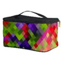 Colorful Mosaic Cosmetic Storage Case View3