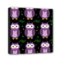 Halloween purple owls pattern Mini Canvas 6  x 6  View1