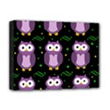 Halloween purple owls pattern Deluxe Canvas 16  x 12   View1