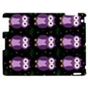 Halloween purple owls pattern Apple iPad 2 Hardshell Case View1