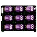 Halloween purple owls pattern Apple iPad 2 Hardshell Case (Compatible with Smart Cover) View1