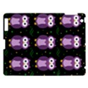 Halloween purple owls pattern Apple iPad 3/4 Hardshell Case View1