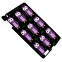 Halloween purple owls pattern Apple iPad 3/4 Hardshell Case View5