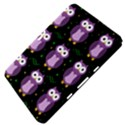 Halloween purple owls pattern Samsung Galaxy Tab 8.9  P7300 Hardshell Case  View4