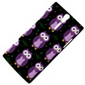 Halloween purple owls pattern Sony Xperia S View4