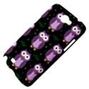 Halloween purple owls pattern Samsung Galaxy Note 2 Hardshell Case View4