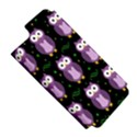 Halloween purple owls pattern Apple iPhone 5 Hardshell Case (PC+Silicone) View5