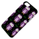 Halloween purple owls pattern Apple iPhone 5 Classic Hardshell Case View4