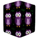 Halloween purple owls pattern Apple iPad 2 Flip Case View4