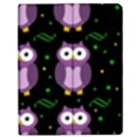 Halloween purple owls pattern Apple iPad Mini Flip Case View1
