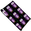 Halloween purple owls pattern Apple iPad Mini Hardshell Case View5