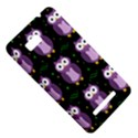 Halloween purple owls pattern HTC One SU T528W Hardshell Case View5