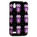 Halloween purple owls pattern HTC Desire V (T328W) Hardshell Case View2