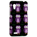 Halloween purple owls pattern HTC Desire VT (T328T) Hardshell Case View2