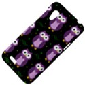 Halloween purple owls pattern HTC Desire VT (T328T) Hardshell Case View4