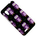 Halloween purple owls pattern HTC Desire VT (T328T) Hardshell Case View5