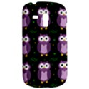 Halloween purple owls pattern Samsung Galaxy S3 MINI I8190 Hardshell Case View2