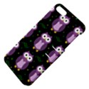 Halloween purple owls pattern Apple iPhone 5 Hardshell Case with Stand View4