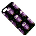 Halloween purple owls pattern Apple iPhone 5 Hardshell Case with Stand View5